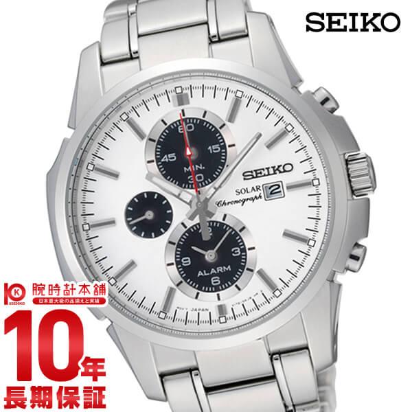セイコー 逆輸入モデル SEIKO ソーラー 10気圧防水 SSC083P1 [正規品] メンズ 腕時計 時計【あす楽】
