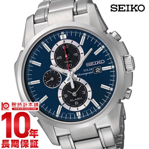 【店内最大37倍!28日23:59まで】セイコー 逆輸入モデル SEIKO ソーラー 10気圧防水 SSC085P1 [正規品] メンズ 腕時計 時計