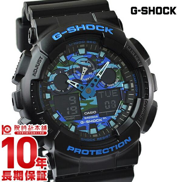 カシオ Gショック G-SHOCK カモフラージュ GA100CB1AJF [正規品] メンズ 腕時計 時計(予約受付中)