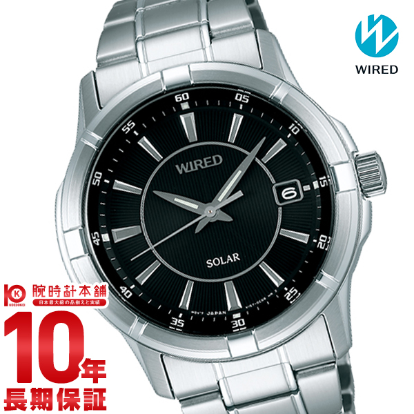 セイコー ワイアード WIRED ソーラー 10気圧防水 AGAD066 [正規品] メンズ 腕時計 時計