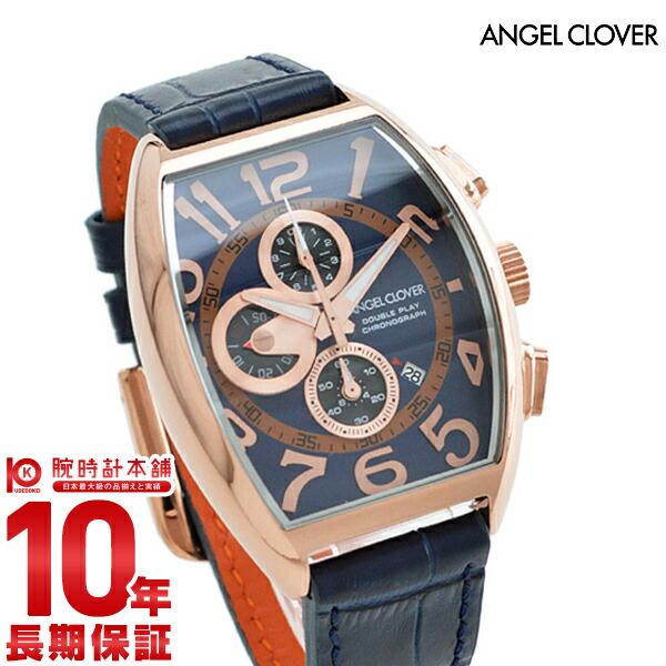 エンジェルクローバー 時計 AngelClover ダブルプレイ ネイビー 10気圧防水 DP38PNV-NV [正規品] メンズ 腕時計【あす楽】