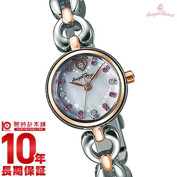 エンジェルハート 腕時計 AngelHeart ブライトハート ホワイトパール スワロフスキー BH21RSW [正規品] レディース 時計