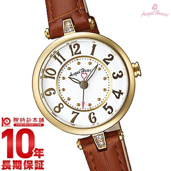 エンジェルハート 腕時計 AngelHeart トゥインクルハート ホワイト スワロフスキー TH27Y-BW [正規品] レディース 時計