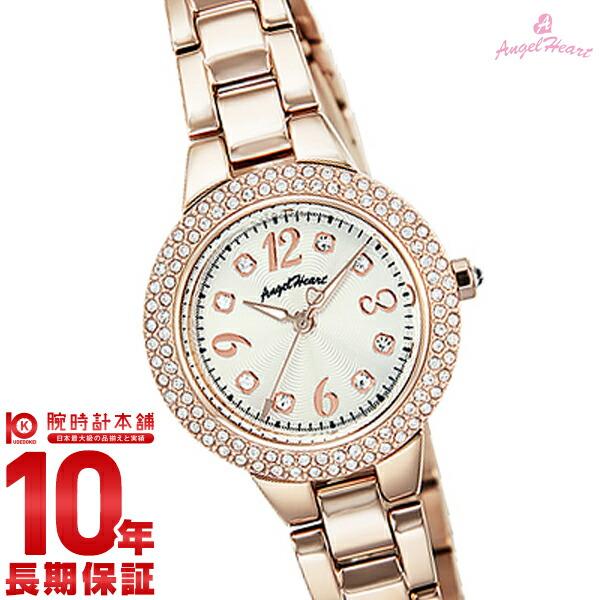 最大1200円割引クーポン対象店 エンジェルハート 腕時計 AngelHeart ラブスポーツ シルバー スワロフスキー WL27PGZ [正規品] レディース 時計