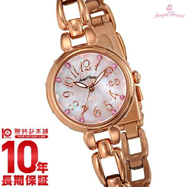 【1000円割引クーポン】エンジェルハート 腕時計 AngelHeart フラワリータイム ピンクパール スワロフスキー FT24PP [正規品] レディース 時計【あす楽】