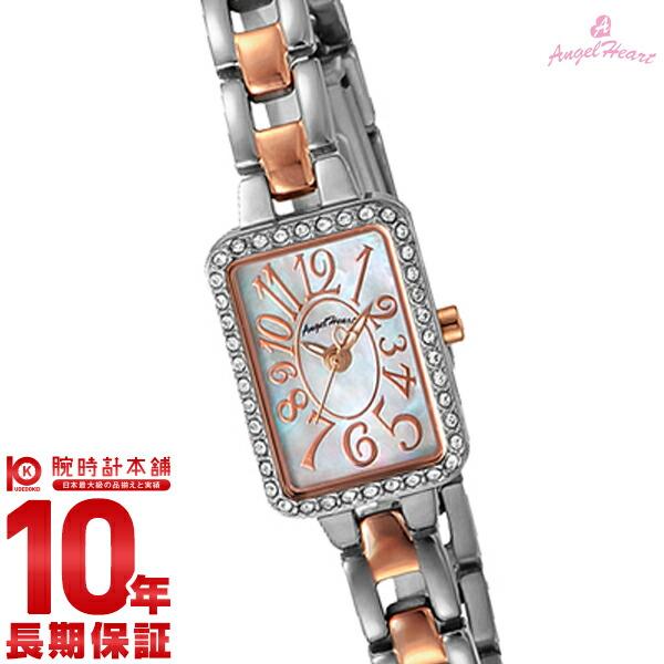 最大1200円割引クーポン対象店 エンジェルハート 腕時計 AngelHeart トゥインクルハート ホワイトパール スワロフスキー TH16RSW [正規品] レディース 時計