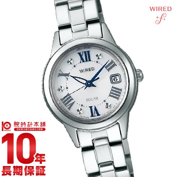 【店内ポイント最大43倍&最大2000円OFFクーポン!9日20時から】セイコー ワイアードエフ WIREDf ソーラー AGED078 [正規品] レディース 腕時計 時計
