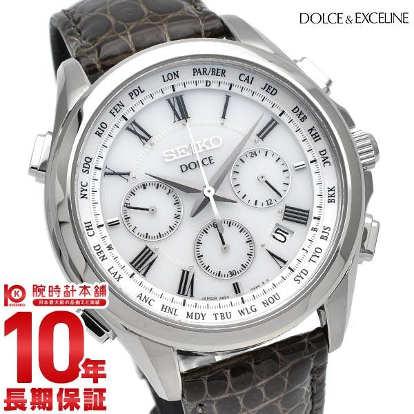 セイコー ドルチェ&エクセリーヌ DOLCE&EXCELINE ソーラー電波 10気圧防水 SADA039 [正規品] メンズ 腕時計 時計【36回金利0%】【あす楽】