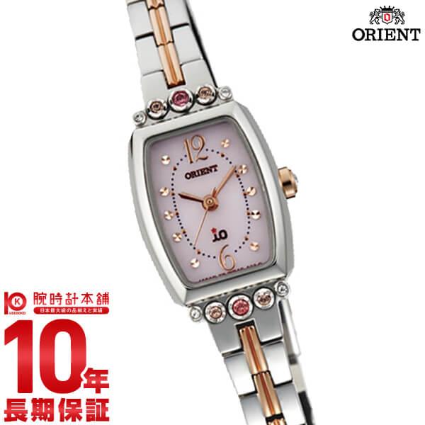 【ポイント最大26倍!9日20時より】オリエント ORIENT イオ ブーケット ソーラー ピンク WI0401WD [正規品] レディース 腕時計 時計