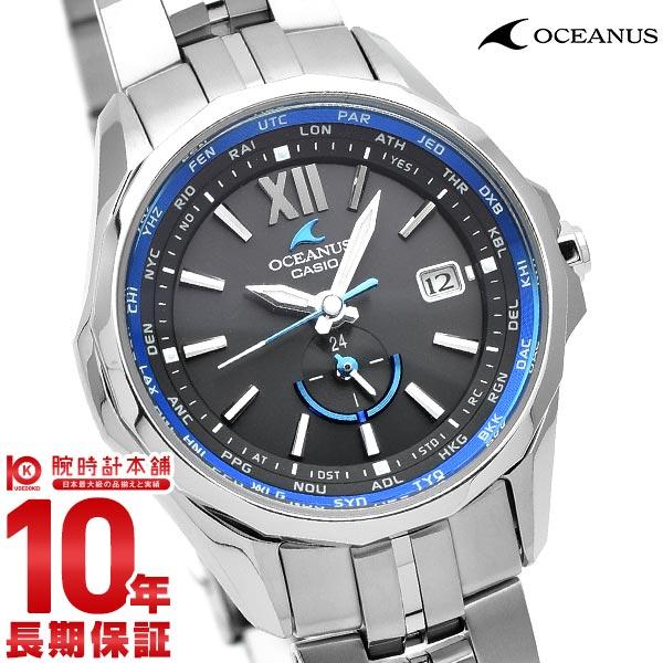 カシオ オシアナス OCEANUS マンタ OCW-S340-1AJF レディース(予約受付中)