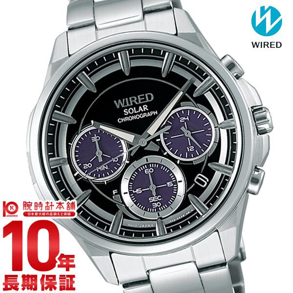 【店内最大37倍!28日23:59まで】セイコー ワイアード WIRED ソーラー 10気圧防水 AGAD071 [正規品] メンズ 腕時計 時計