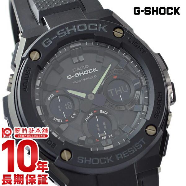 【店内ポイント最大43倍&最大2000円OFFクーポン!9日20時から】カシオ Gショック G-SHOCK Gスチール ソーラー電波 GST-W100G-1BJF [正規品] メンズ 腕時計 時計【24回金利0%】