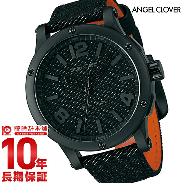 エンジェルクローバー 時計 AngelClover 【300本限定】腕時計 エクスベンチャー(SENSEコラボレーション) デニム EV46BBK-BD [正規品] メンズ 腕時計