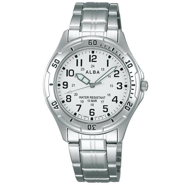 【最大3000円OFFクーポン!20日0時より】【20日は店内ポイント最大38倍!】セイコー アルバ ALBA 10気圧防水 AQPS001 [正規品] メンズ&レディース 腕時計 時計(2019年5月上旬入荷予定)
