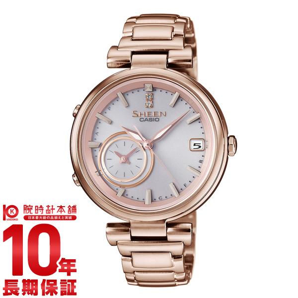 カシオ シーン SHEEN ソーラー SHB-100CG-4AJF [正規品] レディース 腕時計 時計【24回金利0%】(予約受付中)