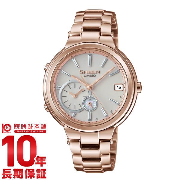 カシオ シーン SHEEN ソーラー SHB-200CG-9AJF [正規品] レディース 腕時計 時計【24回金利0%】(予約受付中)
