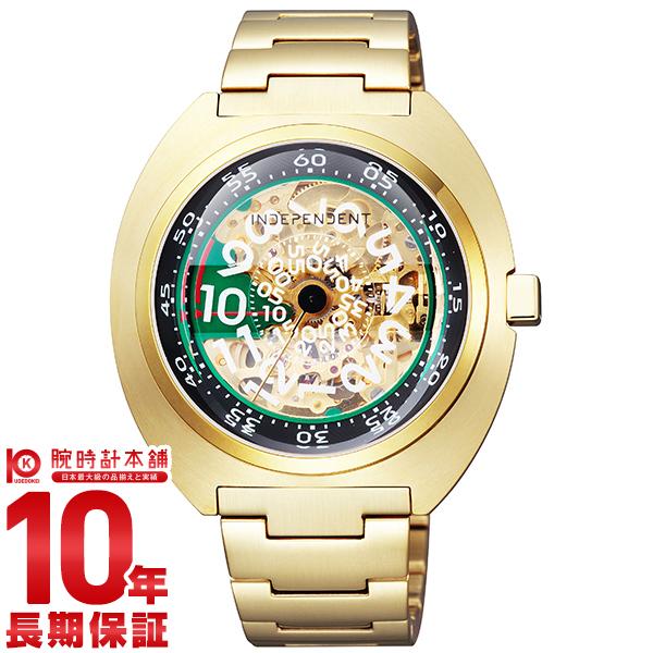インディペンデント INDEPENDENT 20周年記念限定BOX付 限定500本 メカニカル BJ3-420-91 [正規品] メンズ 腕時計 時計【24回金利0%】