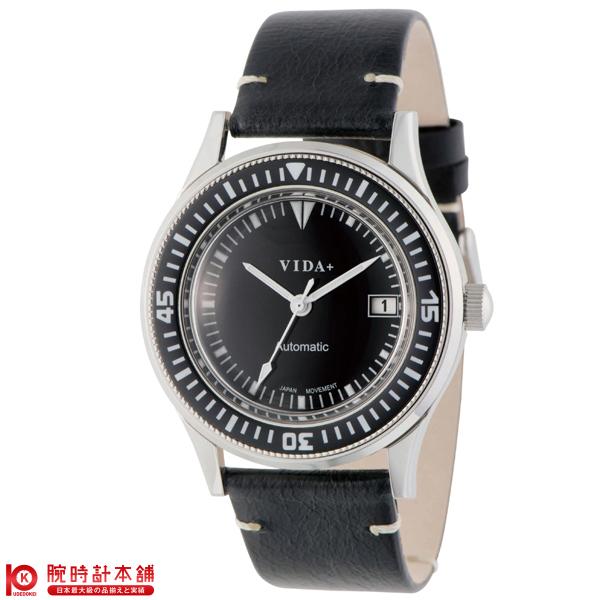 【3000円割引クーポン】ヴィーダプラス VIDA+ ヘリテージ 45920 LE-BK [正規品] メンズ&レディース 腕時計 時計