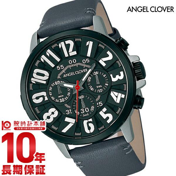 エンジェルクローバー 時計 AngelClover Bump グレー クロノグラフ BU44BKGRY [正規品] メンズ 腕時計