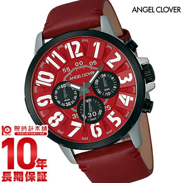 エンジェルクローバー 時計 AngelClover Bump レッド クロノグラフ BU44BRERE [正規品] メンズ 腕時計