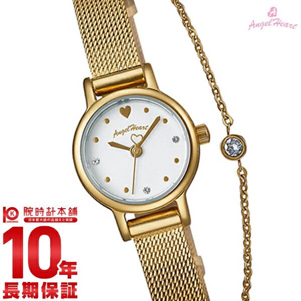 エンジェルハート 腕時計 AngelHeart Tiny Charm ホワイト スワロフスキー TC19YG [正規品] レディース 時計