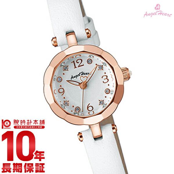 【店内最大37倍!28日23:59まで】エンジェルハート 腕時計 AngelHeart Brilliant Flower ホワイト スワロフスキー BF21P-WH [正規品] レディース 時計