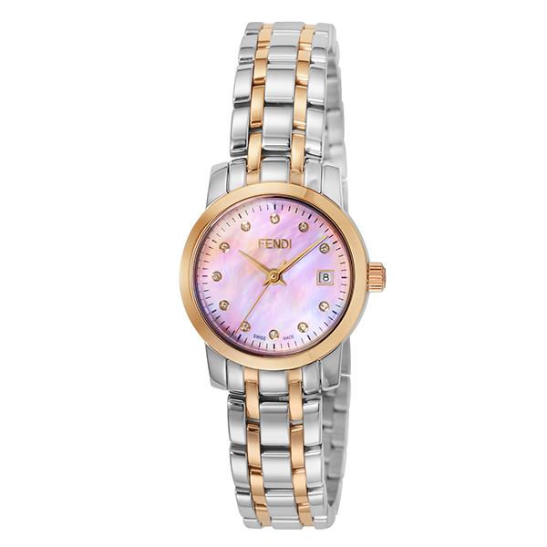 【ショッピングローン24回金利0%】【新作】フェンディ FENDI ラウンドクラシコ F217270D [海外輸入品] レディース 腕時計 時計