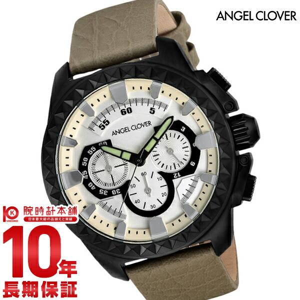 エンジェルクローバー 時計 AngelClover Rugged シルバー クロノグラフ RG46BSV-BE [正規品] メンズ 腕時計