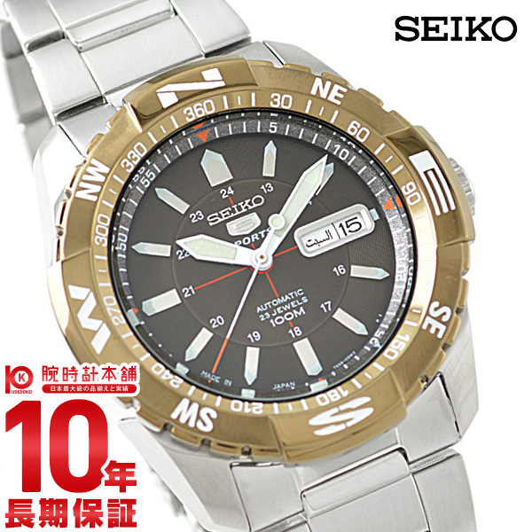 セイコー 逆輸入モデル SEIKO SNZJ09JC [正規品] メンズ 腕時計 時計