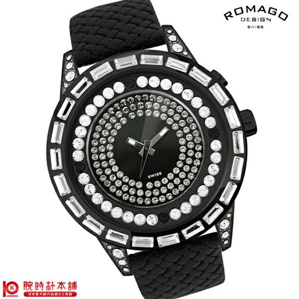 【2000円割引クーポン】ロマゴデザイン ROMAGODESIGN DAZZLE ダズル RM006-1477BK-WH [正規品] メンズ&レディース 腕時計 時計