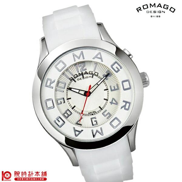 ロマゴデザイン ROMAGODESIGN Attraction series (アトラクションシリーズ) RM015-0162PL-SVWH [正規品] メンズ&レディース 腕時計 時計
