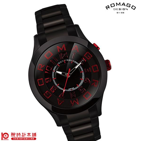 【3000円割引クーポン】ロマゴデザイン ROMAGODESIGN ATTRACTION アトラクション RM015-0162SS-BKRD [正規品] メンズ&レディース 腕時計 時計