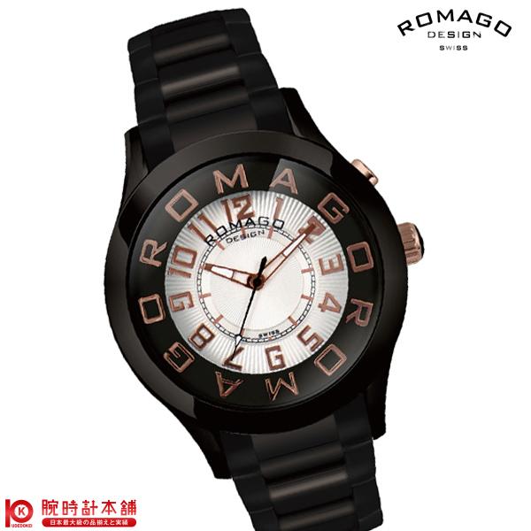 ロマゴデザイン ROMAGODESIGN ATTRACTION アトラクション RM015-0162SS-BKRG [正規品] メンズ&レディース 腕時計 時計
