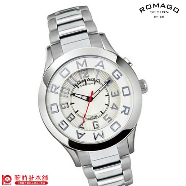 ロマゴデザイン ROMAGODESIGN ATTRACTION アトラクション RM015-0162SS-SVWH [正規品] メンズ&レディース 腕時計 時計