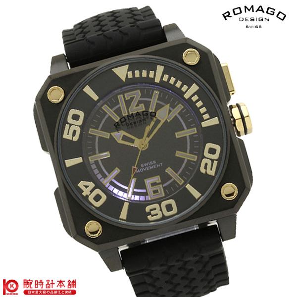 【5000円割引クーポン】ロマゴデザイン ROMAGODESIGN COOL クール RM018-0073PL-BK [正規品] メンズ&レディース 腕時計 時計