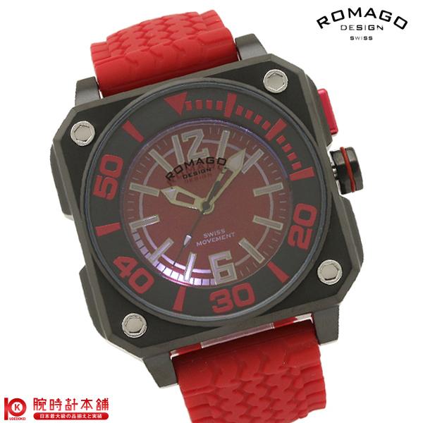 最大1200円割引クーポン対象店 ロマゴデザイン ROMAGODESIGN COOL クール RM018-0073PL-RD [正規品] メンズ&レディース 腕時計 時計