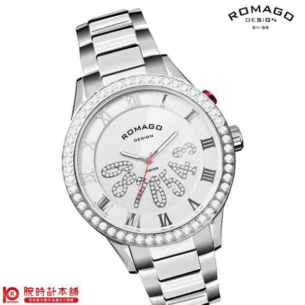 【5000円割引クーポン】ロマゴデザイン ROMAGODESIGN LUXURY ラグジュアリー RM019-0214SS-SVWH [正規品] メンズ&レディース 腕時計 時計