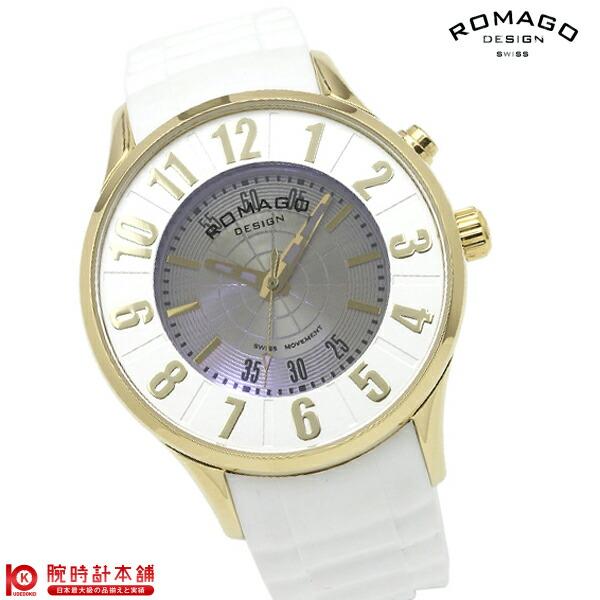 【2000円割引クーポン】ロマゴデザイン ROMAGODESIGN NUMERATION ヌメレーション RM068-0053PL-GDWH [正規品] メンズ&レディース 腕時計 時計