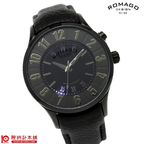 ロマゴデザイン ROMAGODESIGN NUMERATION ヌメレーション RM068-0053ST-BK [正規品] メンズ&レディース 腕時計 時計