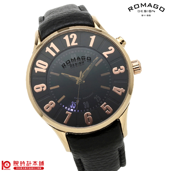 ロマゴデザイン ROMAGODESIGN NUMERATION ヌメレーション RM068-0053ST-RG [正規品] メンズ&レディース 腕時計 時計