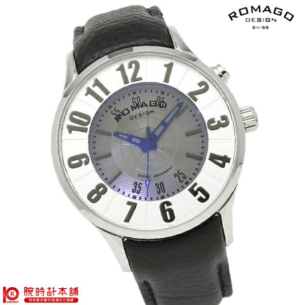 ロマゴデザイン ROMAGODESIGN NUMERATION ヌメレーション RM068-0053ST-SV [正規品] メンズ&レディース 腕時計 時計