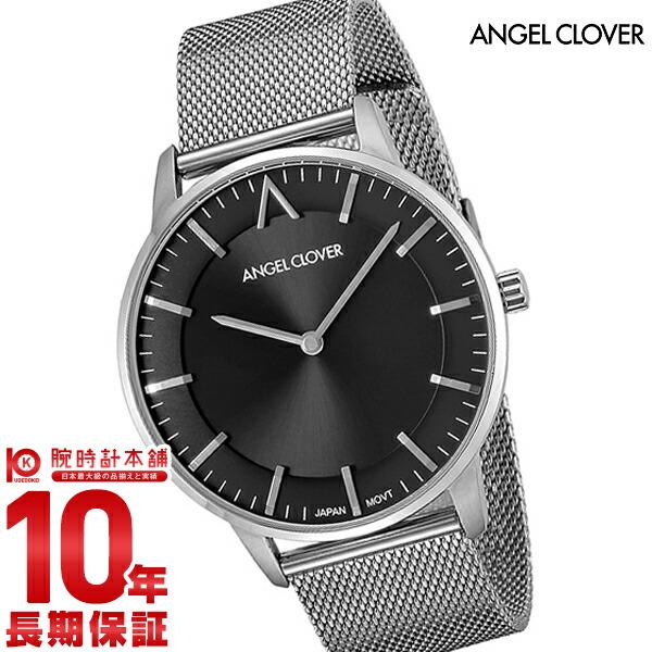 エンジェルクローバー 時計 AngelClover Zero 交換レザーベルト付き ZE40SGRY [正規品] メンズ 腕時計