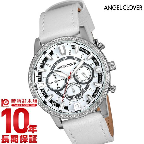 エンジェルクローバー 時計 AngelClover Ridge ホワイト RD44SWH-WH [正規品] メンズ 腕時計【あす楽】
