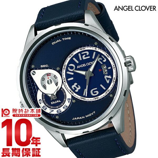 エンジェルクローバー 時計 AngelClover Duel ネイビー DU47SNV-NV [正規品] メンズ 腕時計