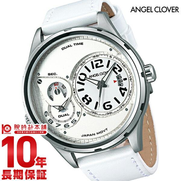 【2000円割引クーポン】エンジェルクローバー 時計 AngelClover Duel ホワイト DU47SWH-WH [正規品] メンズ 腕時計