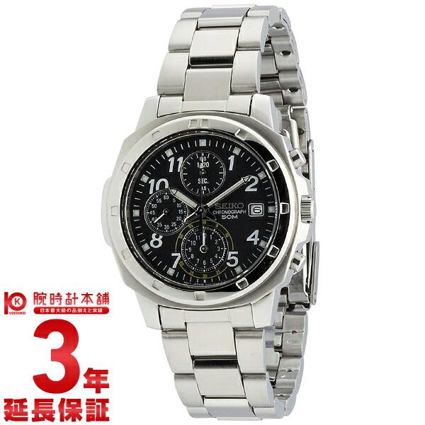 【店内最大37倍!28日23:59まで】セイコー 逆輸入モデル クロノグラフ CHRONOGRAPH SND195P1 [海外輸入品] メンズ 腕時計 時計