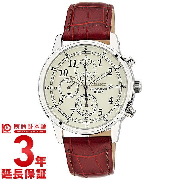 セイコー 逆輸入モデル クロノグラフ CHRONOGRAPH SNDC31P1 [海外輸入品] メンズ 腕時計 時計