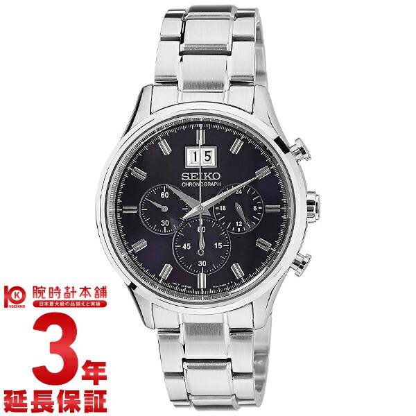 セイコー 逆輸入モデル クロノグラフ CHRONOGRAPH SPC081P1 [海外輸入品] メンズ 腕時計 時計
