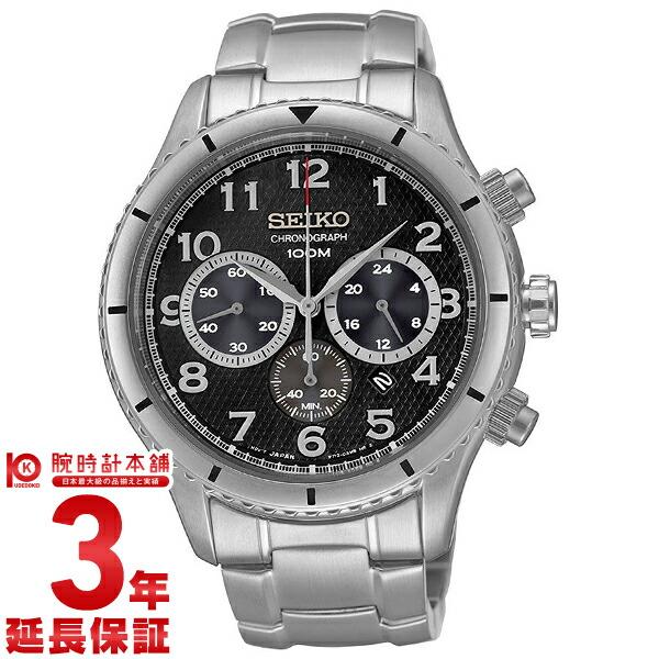 【店内最大37倍!28日23:59まで】セイコー 逆輸入モデル クロノグラフ CHRONOGRAPH SRW037P1 [海外輸入品] メンズ 腕時計 時計
