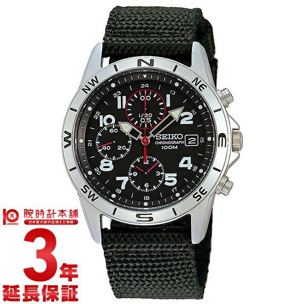 セイコー 逆輸入モデル クロノグラフ CHRONOGRAPH SND399P [海外輸入品] メンズ 腕時計 時計
